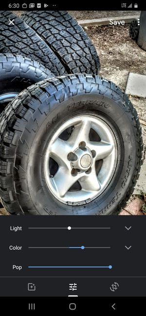 305/70/16 come off 2002 Ram 1500 rim and tires for Sale in Newport News, VA