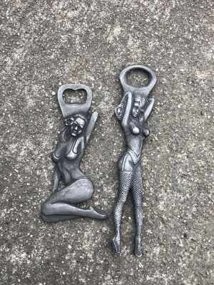 Bottle opener cast iron antique finish $25 each for Sale in Mount Hamilton, CA