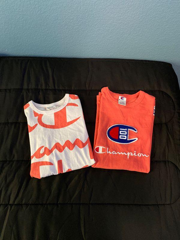 2 champion shirts