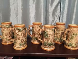 Beer Mugs!! 3 sets of 2 for Sale in Edgerton, MO