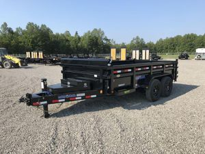 2021 14' LOAD TRAIL BUMP PULL DUMP TRAILER for Sale in North Jackson, OH