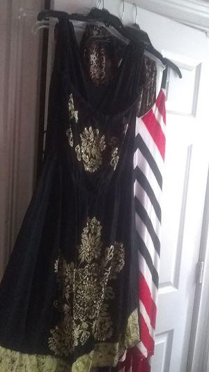 Black yellow dress for Sale in Phenix City, AL