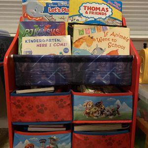 Paw Patrol Toddler Book Shelf for Sale in Virginia Beach, VA