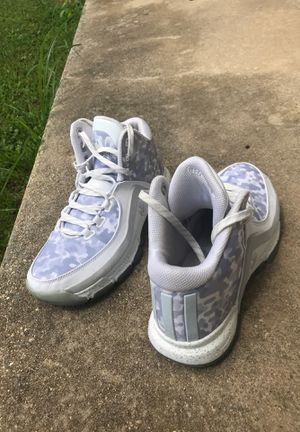 ADIDAS JOHN WALL 2 FOOTWEAR WHITE/CLEAR GREY-FOOTWEAR WHITE AQ8686 for Sale in Cooksville, MD