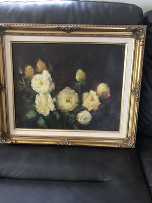 Beautiful painting and frame light new for Sale in Miami, FL