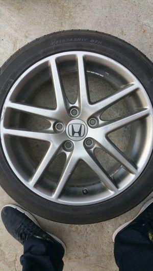 "17"" CL7 Euro R wheels w/ tires for Sale in San Bernardino, CA"