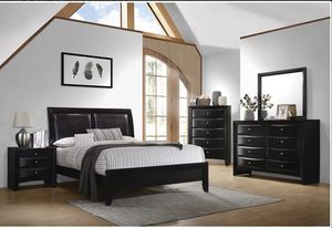 Modern Queen Bedroom Set (ONLY $54 DOWN) for Sale in Duncanville, TX
