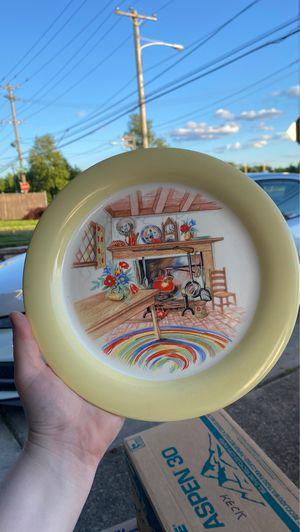 HomerLaughlin Eggshell decorative plate for Sale in Philadelphia, PA