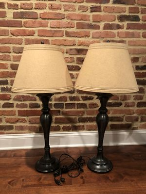 2 Lamps for $60 for Sale in Baltimore, MD