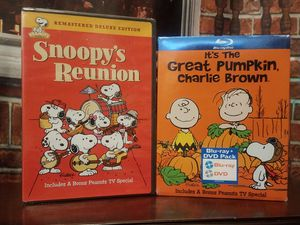 PEANUTS It's the Great Pumpkin Charlie Brown Snoopy's Reunion Blu-ray DVD NEW for Sale in Tampa, FL