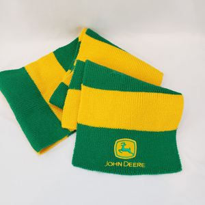 JOHN DEERE Scarf Yellow Gold Green Tractor Deer Logo for Sale in Queen Creek, AZ