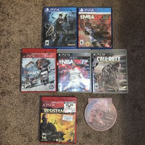 PS3 & PS4 Games for Sale in Peoria, AZ