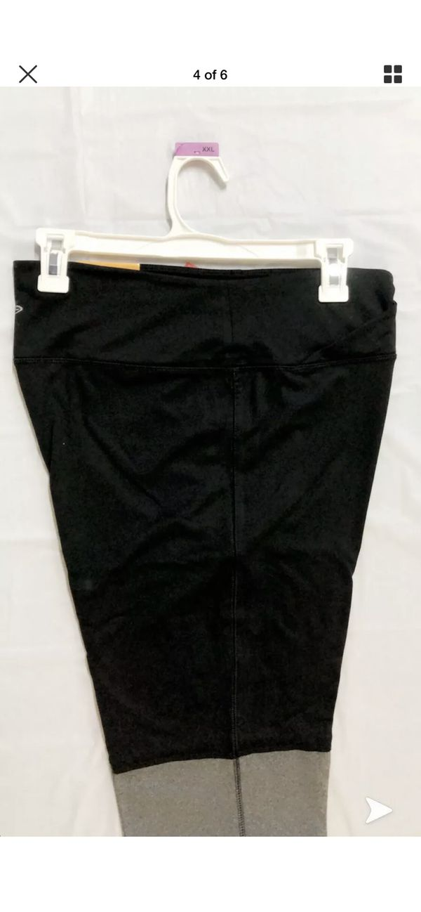 C9 champion leggings pants XXL brand new with tag. Black and grey