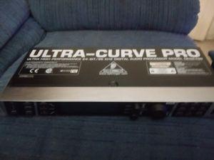 BEHRINGER ULTRA CURVE PRO High performance 24 bit 96khz digital audio processor model DEQ2496 for Sale in Carmichael, CA