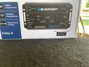 Blaupunkt High and low converter with a built-in epicenter for Sale in Modesto, CA