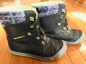 Kid's Boy's Merrell Snow Bank 2.0 Waterproof Snow Boot for Sale in Ashburn, VA