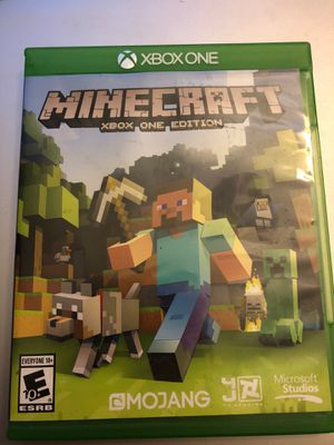 Minecraft Xbox One Edition for Sale in Westminster, CA
