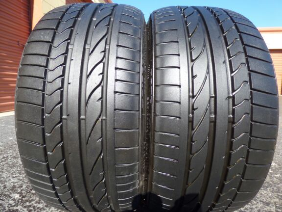 225/35/19 BRIDGESTONE POTENZA RE050A 99% TREAD TAKE OFFS