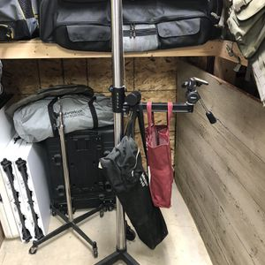 Rolling Studio camera stand with camera mount for Sale in Indianapolis, IN