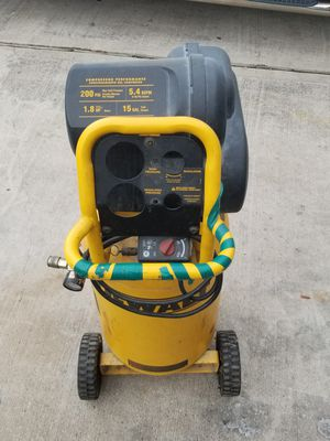 Compressor and pressure washer for Sale in Houston, TX