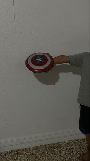 Nerf x avengers captain America shield x blaster for Sale in Fort Myers, FL