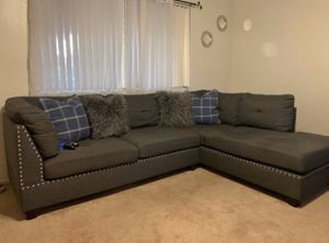 Grey Stud Couches for Sale in Fresno, CA