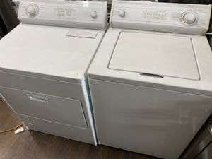 WHIRLPOOL TOP LOAD WASHER AND DRYER SET HEAVY DUTY for Sale in Covina, CA