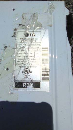 LG 24, 000 BTU Window AC for parts for Sale in Peoria, AZ