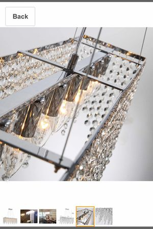 Brand new open box crystal chandelier for Sale in Cleveland, OH
