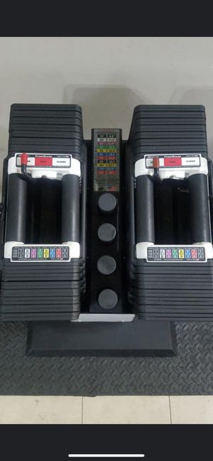 PowerBlock Classic 90lb Adjustable Dumbbells for Sale in Anaheim, CA