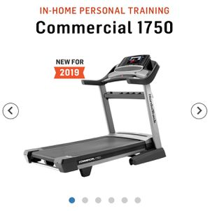 New 2019 NordicTrack Commercial 1750 Treadmill for Sale in Morgan Hill, CA