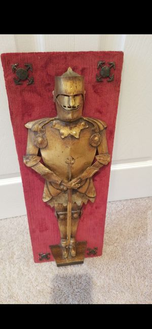 18 1/2 by 7 1/2 IN INCHES !!!VINTAGE KNIGHT{ RARE!!} for Sale in Delray Beach, FL