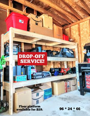 🚛 DELIVERY STATEWIDE! Garage storage shelves. for Sale in Portage, MI