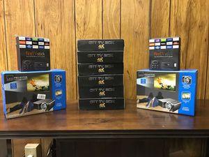 FIRESTICK KODI BOX PROJECTOR BUNDLE $120 for Sale in South Euclid, OH