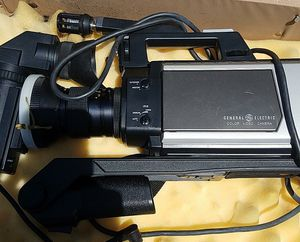 GE VHS video camera like new. 50.00 for Sale in Gilroy, CA