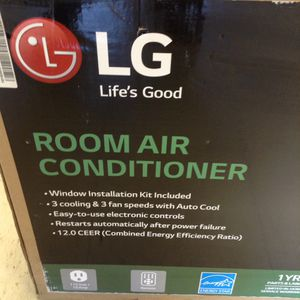 LG ROOM AIR CONDITIONER ( NEW ) for Sale in Denver, CO