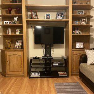 Wall Unit Solid Wood for Sale in Miami, FL