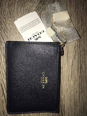 NEW Coach Leather ID for Sale in Katy, TX