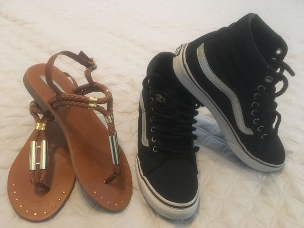 Steve Madden and Vans shoes $20