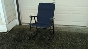 Folding camping rocking chair for Sale in Puyallup, WA