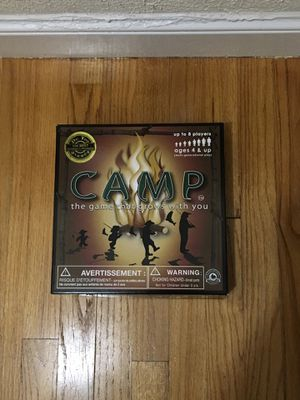 Camp Game- ages 4 and up for Sale in Sudbury, MA