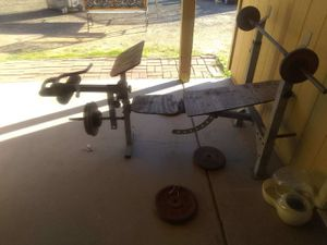 Weight bench for Sale in Peoria, AZ