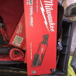 Milwaukee M12 3/8in Ratchet ToolOnly Each $90  for Sale in Garden Grove, CA