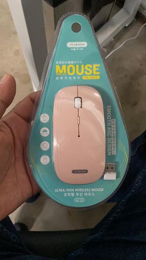 Ultra Thin Wireless Mouse. Brand New. Long Battery Life for Sale in Glendale, CA