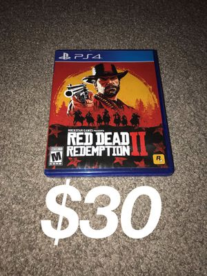 Red Dead Redemption 2 Like new PS4 video game 🎮 for Sale in Los Angeles, CA