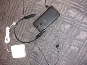 LG KG20/BLUETOOTH HEADPHONES/APPLE. MACBOOK CHARGER. ADAPTER for Sale in San Francisco, CA