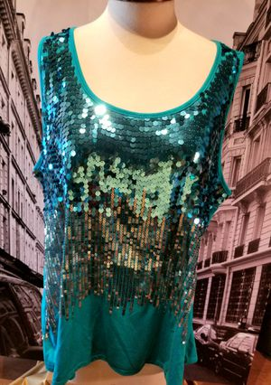 Dress Barn Sequin Top Plus Size 3X for Sale in Chandler, AZ