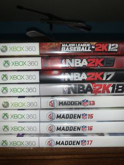 Xbox 360 sports games for Sale in Cashmere,  WA
