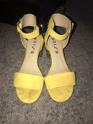 Yellow Heels! for Sale in Round Rock, TX