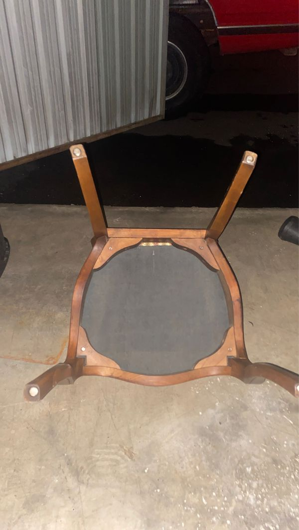 Antique- chair fully supports anyone- $50